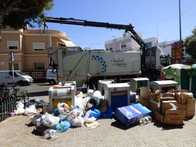 Desconvocada la huelga de basuras — Rota al dia