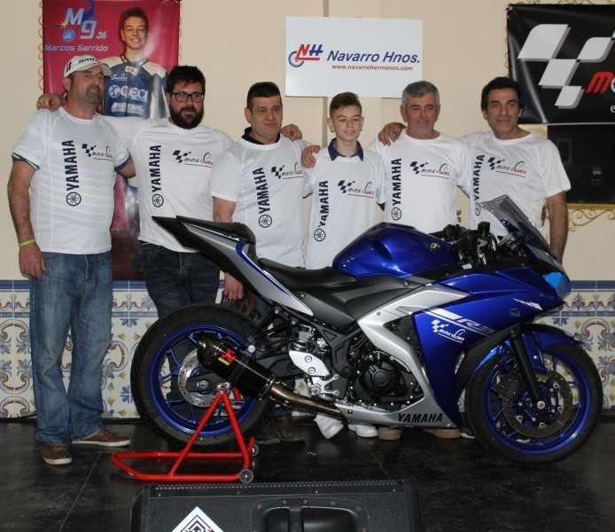 El roteño Marcos Garrido, único gaditano que estará en la Yamaha ...